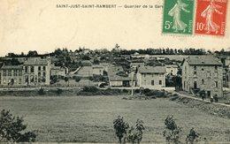 SAINT JUST SAINT RAMBERT QUARTIER DE LA GARE - Saint Just Saint Rambert