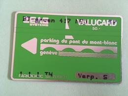 Crazy MINT Overprinted Landis & Gyr Parking For Switzerland - Suisse