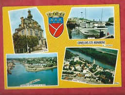 CPM - Conflans Saint Honorine  -  (78. Yvelines)  Multivues , Multivue - Conflans Saint Honorine