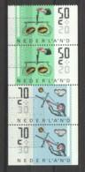 Netherlands 1986 NVPH 1352A-C Canceled - Period 1980-... (Beatrix)