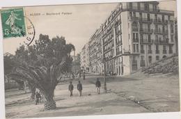 ALGER - BOULEVARD PASTEUR - Charrettes - Calèches - Palmiers - Algiers