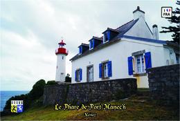 Carte Postale, France, Phare, Le Phare De Port Manec'h - Phares