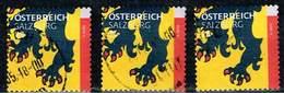 Österreich 2017,Michel# 3306 O Wappen (Ausschnitte): Salzburg - 2011-... Used