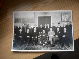 Beograd Beogradska Opstina Clanovi 1934 Signatures Simic Big Photo 15.5x23 Cm - Serbia