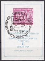 Wlk_ DDR  - Mi.Nr. Block 10 - Gestempelt Used Sonderstempel - Blocks & Kleinbögen