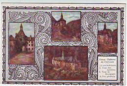 LUXEMBOURG . CLERVAUX . VIEUX CHATEAU DE CLERVAUX . HOTEL DU VIEUX CHATEAU . Editeur  GEISBUSCH - Clervaux