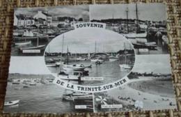 56   -   SOUVENIR DE LA TRINITE SUR MER @ VUE RECTO/VERSO AVEC BORDS - La Trinite Sur Mer