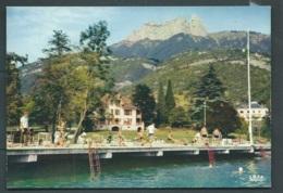 Cpsm Gf - Lac D'Annecy - Talloires -- La Plage, La Maison Des Jeunes Et Des Congrès, Les Dents De Lanfon  - Maca1133 - Talloires
