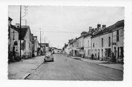 49  SAINT JUST  SUR DIVE  1957  RUE CENTRALE DE MOLLAY    CAFE   BON ETAT 2 SCANS - France