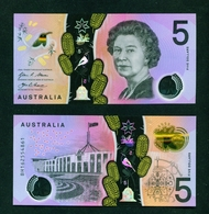 AUSTRALIA - 2016 $5 UNC Banknote - 2005-... (Polymer)
