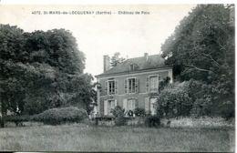 N°6207 T -cpa St Mars De Locquenay -château De Poix- - Autres Communes