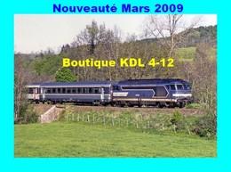 RU 1811 - Train Le Thermal - Loco BB 67440 Vers MURAT - Cantal - SNCF - Murat