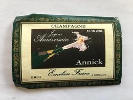 Ancienne Etiquette De Champagne Emilien Fresne Cuisles  Old Wine Label - Champagne
