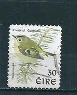 N° 1127 Roitelet Huppé (adhésif)  Timbre Irlande (1999) Oblitéré Eire - Oblitérés
