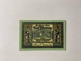 Allemagne Notgeld Freiberg 5 Pfennig - [ 3] 1918-1933 : République De Weimar