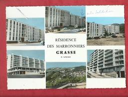 CPSM Grand Format - Grasse  -(06. Alpes -Mar.) - Résidence Des Marronniers - Grasse
