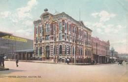 Houston Texas, Cotton Exchange Building C1900s Vintage Postcard - Houston