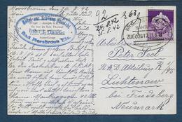 Bas Rhin - Cachet  D' Ambulant WALBURG  LEMBACH - Marcophilie (Lettres)