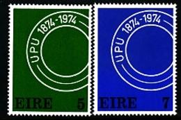 IRELAND/EIRE - 1974  UNIVERSAL POSTAL UNION  SET  MINT - 1949-... Repubblica D'Irlanda