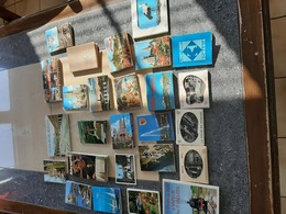 LOT DE CARNETS CARTES POSTALES  15 DIFFERENTS - 5 - 99 Postcards