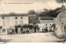 D16  SAINT FRONT  Carrefour Du Pont - France