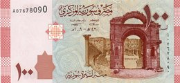 SYRIA 100 SYRIAN POUNDs 2009 P-113a UNC - Siria