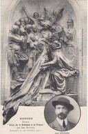 Union De La Bretagne Et De La France - Monument Inauguré à Rennes Le 29 Octobre 1911 - Sculpteur Jean Boucher - Bretagne
