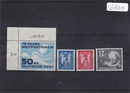 DDR, Kpl. Jahrgang 1949**  (K 6101) - Neufs
