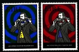 IRELAND/EIRE - 1976  TELEPHONE CENTENARY  SET  MINT - 1949-... Repubblica D'Irlanda