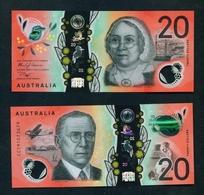 AUSTRALIA - 2019 $20 UNC Banknote - Dezimale Regierungsausgaben 1966-...