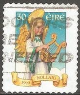 Irlande - 1999 - Ange Musicien - YT 1203 Oblitéré - Oblitérés
