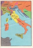 """N. 1 L'ITALIA NEL 1454 - FIGURINA STICKER PANINI """"ITALIA PATRIA NOSTRA 1968"""" - Panini"""