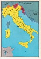 """N. 3 L'ITALIA NEL 1870 - FIGURINA STICKER PANINI """"ITALIA PATRIA NOSTRA 1968"""" - Panini"""