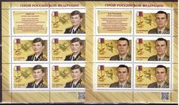 Russia 2020, HEROES, 2020, 2 SHEETLETS - Blocs & Feuillets