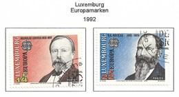 Luxembourg 1992  Mi.Nr. 1293 / 1294 , EUROPA  CEPT - Entdeckung Von Amerika - Gestempelt / Fine Used / (o) - Europa-CEPT