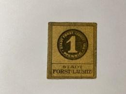 Allemagne Notgeld Lausitz 1 Pfennig - [ 3] 1918-1933 : République De Weimar