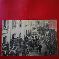 BESSEGE CAVALCADE 1905 CHAR DE LA VERRERIE - Bessèges