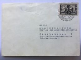 SAAR 1951 Cover `Kolping Woche` Sonderstempel - Lettres & Documents