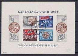 DDR, Block 9B, Gest. Mi. 220,- Euro (K 6119) - Blocks & Kleinbögen