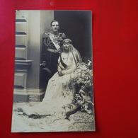 CARTE PHOTO JULIETTA COUPLE ROYAL SERBE - Serbia