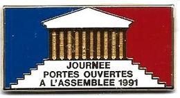 AB - A37 - ASSEMBLEE NATIONALE 1991 - JOURNEE PORTES OUVERTES - Verso : ARTHUS BERTRAND / PARIS - Arthus Bertrand