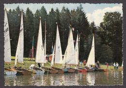 67622/ CHIMAY, Lac De Virelles, Voiliers Au Repos - Chimay
