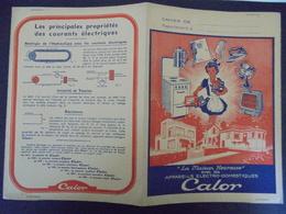 PROTEGE-CAHIER - CALOR : APPAREILS ELECTRO DOMESTIQUES - Carte Assorbenti