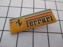 519 Pin's Pins / Beau Et Rare / THEME : AUTOMOBILES / CHEVAL CABRE LOGO DE LA MARQUE FERRARI - Ferrari