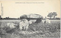 LE BERNARD (85) Dolmen De La Pierre Levée Route Du Breuil - France