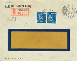 Helsinki Helsingfors 1934 - FK R-Brief - Finlandia