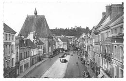 28 - DREUX - Perspective De La Grande Rue - Vue Prise Du Beffroi - Ed. E. Mignon N° 6193 - Citroën Traction - Dreux