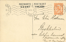 Vaasa Vasa 1928 Nach Stockholm - Finland