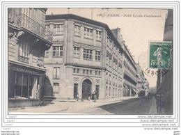 Cpa Réf-JPS-975 (  Dép 75 )    à PARIS   Le Petit-Lycée Condorcet -- Et à Gauche La Teinturerie --au Fond Des Attelages - France