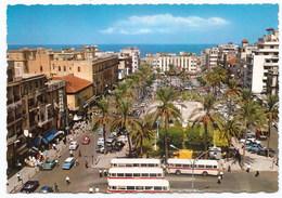 LIBAN - Beirut - Place Des Martyres , Dim. 14.0 Cm X 10.0 Cm - Libanon
